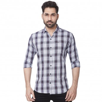 Kaprido Men Soft Smart Checks Shirt