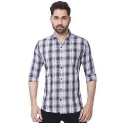 Kaprido Men Soft Smart Checks Shirt
