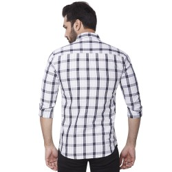 Kaprido Soft Smart Checks Men Shirt
