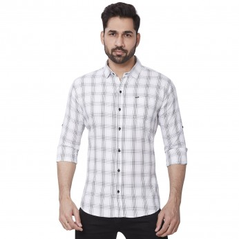 Cotton Checks Mens Kaprido Shirt