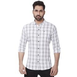 Cotton Checks Mens Kaprido Shirt