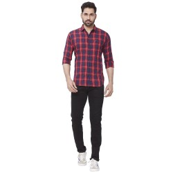 Cotton Checks Men Kaprido Shirt