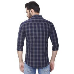 Men Kaprido Cotton Checks Shirt