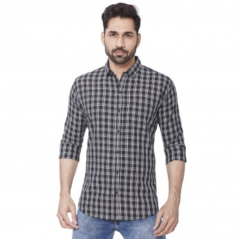 Men's Kaprido Cotton Checks Shirt