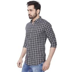 Men's Kaprido Cotton Checks Shirt