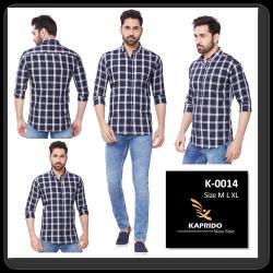 Checks Kaprido Shirt For Men's