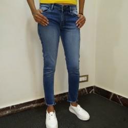 Denim Vistara Blue Jeans For Girl's.