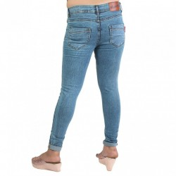 Denim Vistara Women's Slim Fit Blue Colored Jeans