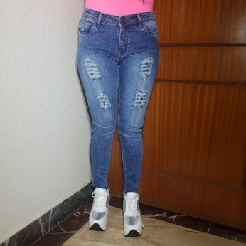 Denim Vistara Damage jeans for women