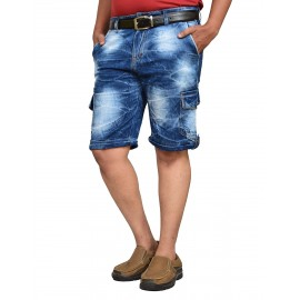 Royal Spider - Denim Shorts For Man