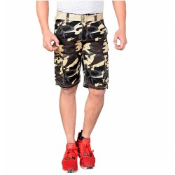 Men's Cotton Army 3/4th Shorts DV-S002