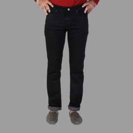 Denim Vistara - Men Cotton Black jeans DV-0788