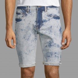 Royal Spider - Sky Blue Denim Short For Men