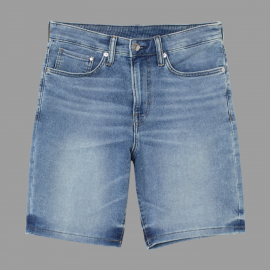 Royal Spider - Men Blue Denim Short