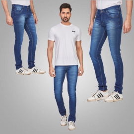 Men's Casual Classic Blue Jeans