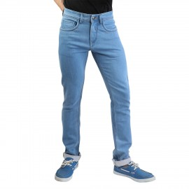 Denim Vistara - Men's Slim Fit Sky Blue Jeans