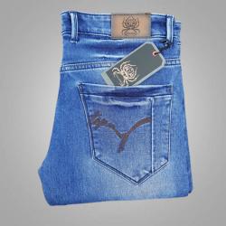 Royal Spider - Men's Denim Regular Fit Blue Jeans RS-5008