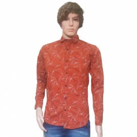Men Red Colour Shirts