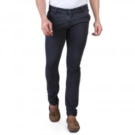 Sale Denim Vistara Men's Grey Slim Fit Jeans