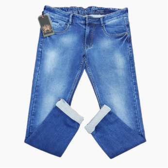 Royal Spider - Regular Fit Blue Jeans For Men's