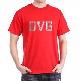 DVG - Men's Red Classic T-Shirts DVG-T002