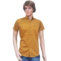 Men's Party Wear Golden yellow Shirts