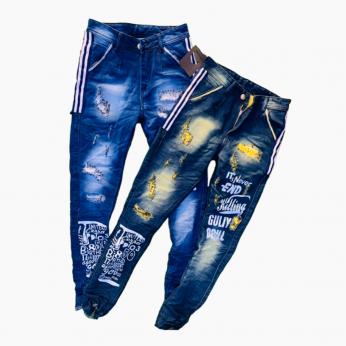 Mens Nero Fit Jeans 5 colours DV-0774