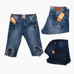 Wholesale 2 Colour Denim Jeans For Men's DV-0777