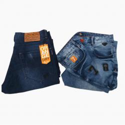 Wholesale 2 Colour Denim Jeans For Men's