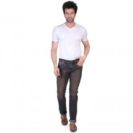 Denim Vistara Men Black Brown Jeans