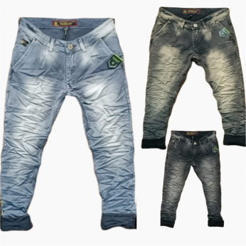 Men's Stretchable Dusty Color Denim Jeans