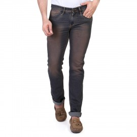 Denim Vistara Men Black Brown Jeans