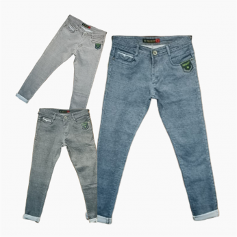 Men's Stylish 3 colour jeans Set Wholesale Price. WJ-1009