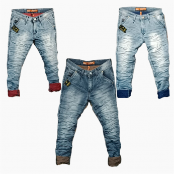 Men's Stylish jeans 3 Colour Set Wholesale Price. WJ-1010