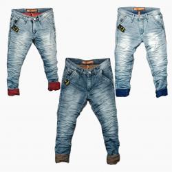 Men's Stylish jeans 3 Colour Set Wholesale Price. WJ-1010