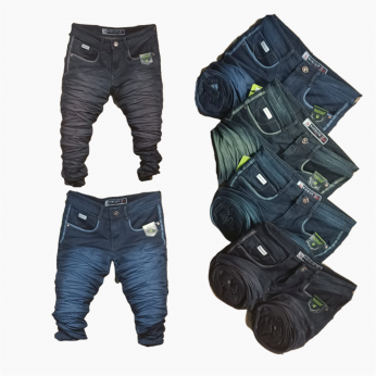 Men's Trendy Denim Jeans WJ-1013