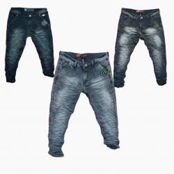 Wholesale - Men's Wrinkle Denim Jeans WJ-1017