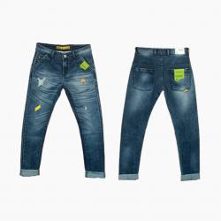 Wholesale - Damage Tone Denim Jeans Mens