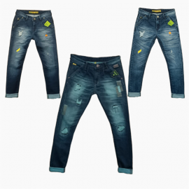 Wholesale - Damage Tone Denim Jeans Mens
