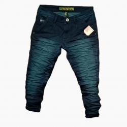 Wholesale Men's Denim Wrinkle Jeans