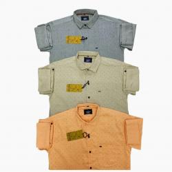 Kaprido Cotton Printed Mens Shirts Wholesale Price.