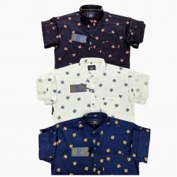 Wholesale Price Kaprido Cotton Printed Mens Shirts
