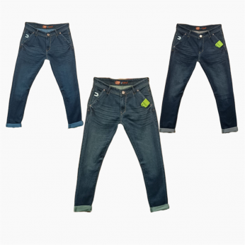 Men's Denim Jeans 3 Colour Set Wholesale Price. 555