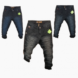 Wholesale - Men Wrinkle Denim Jeans