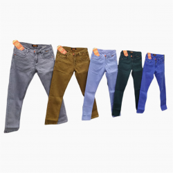 Wholesale - 5 Dusty Colours Men's Jeans GTU-0006