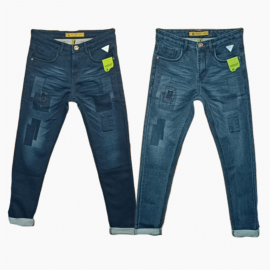 Damage Patch Jeans wholesale price 575