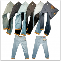 Latest Fashion Denim Ripped Men Jeans