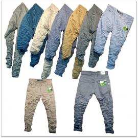 Wholesale - 7 Dusty Colours Men's Jeans