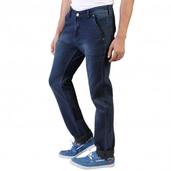 Men's Blue Slim Fit  Denim Vistara Jeans