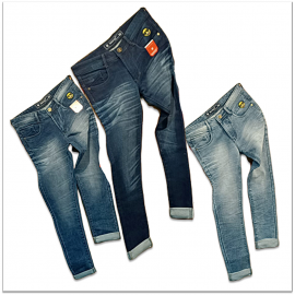 Men's Regular Fit 3 Colour Jeans Wholesale price